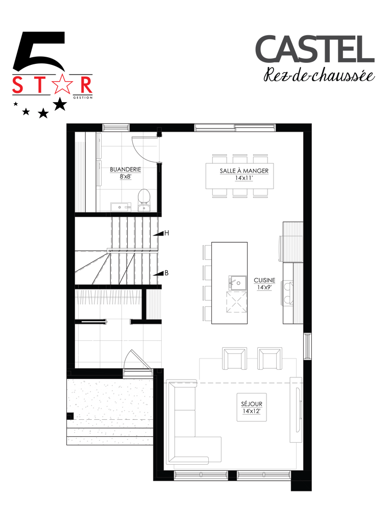 gestion 5 star plan castel rc